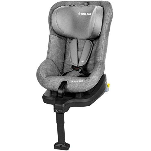 Maxi-Cosi TobiFix, sicherer Kindersitz mit integrierter Isofix Station und Seitenaufprallschutz, 3 Sitz- und Ruhepositionen, der Gruppe 1, nomad grey (grau)