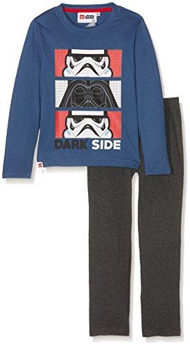 LEGO Star Wars 161997 Ensemble de Pyjama, Bleu, (Taille Fabricant: 6 Ans) Garçon