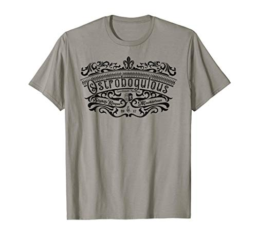 Ostrobogulous - Risque and Mischievous - Grandiloquent Word T-Shirt -