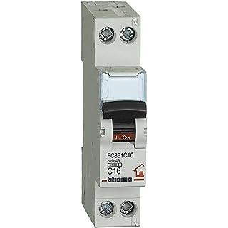Bticino fc881C16btdin Automatische Sicherungen Abb Leitungsschutzschalter 1p N Curve C, 16A