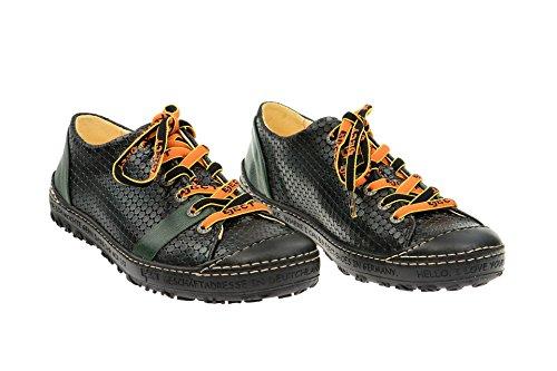 coupe Eject Chaussures 019 lacets 16224 femme et à Noir classique PWCOYW