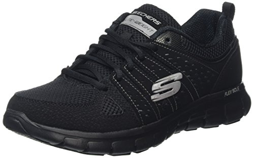 Skechers Synergy-look Book Damen Laufschuhe, Bbk, 37 EU