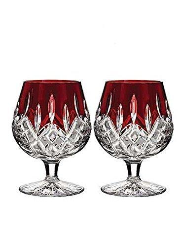 Waterford Lismore Brandy (Waterford Lismore Red Brandy, Pair by Waterford)