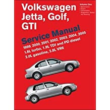 [(Volkswagen Jetta, Golf, GTI Service Manual 1999-2005 : 1.8L Turbo, 1.9L TDI and PD Diesel 2.0L Gasoline, 2.8L VR6)] [By (author) Bentley Publishers] published on (June, 2011)