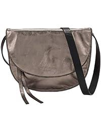 Liebeskind Berlin Damen Dive Bag 2 Metallic-Clutch Small, Silber (Warm Silver), 2x21x21 cm