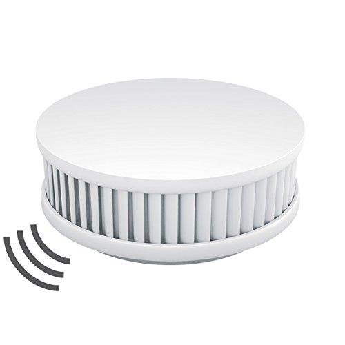 Pyrexx PX-1C Funk Rauchmelder: 4x Funk Rauchmelder / Feuermelder / Hitzemelder geprüft nach DIN EN 14604 - verlinkbar vernetzbar koppelbar