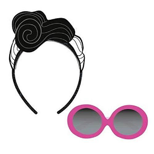 L.O.L. Surprise ! Sonnenbrille Für Mädchen Mit Puppen Stirnbändern LOL | Sommer Geschenk Von It Baby, Doll Face Oder Teacher's Pet | Offizielles Produkt (Dollface)