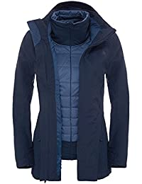 The North Face W Brownwood Triclimate Jacket - Chaqueta para mujer, color azul, talla XS