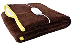 Warmland Single Bed Electric Bed Warmer - Brown