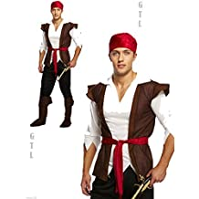 Value Costume: Male Pirate Swashbuckle by NEFFY SHOP
