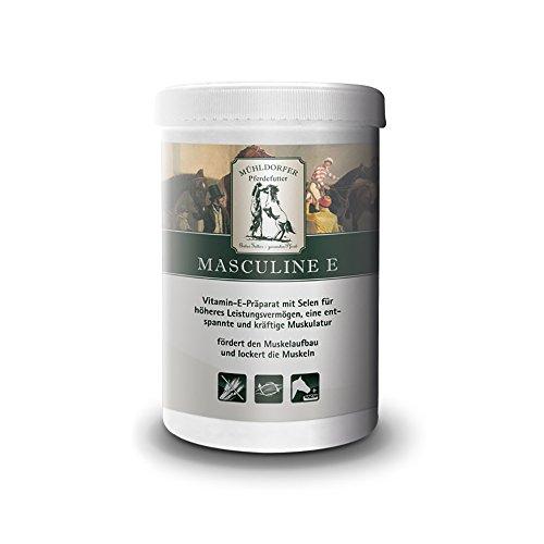 Mühldorfer, Ergänzungsfutter für Pferde, Höheres Leistungsvermögen, Masculine E, 0,75 kg