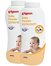 Pigeon Baby Powder with Fragrance (500g, Pack of 2) - 1000 g