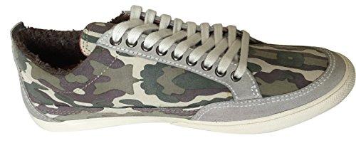 Guess , Baskets mode pour homme Camouflage Multi-colour Derby