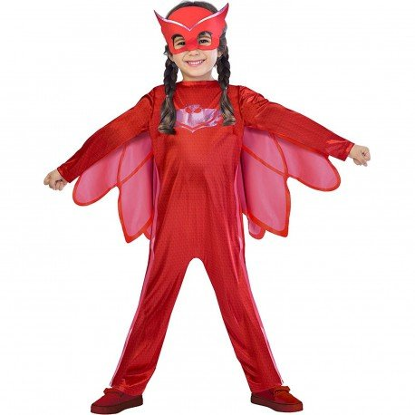 Childrens Size PJ Masks Disfraz de Owlette Medium (5-6 years)