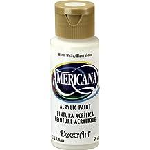 Acrilico americana dipingere 2 once-Warm White/Semi-Opaque