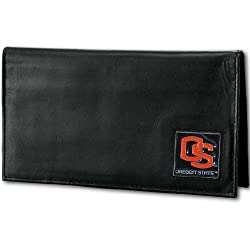 NCAA Oregon State Beavers Deluxe Leather Checkbook Cover