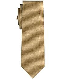 cravate unie twill type solid mustard