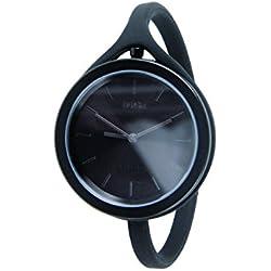 Black Take Time Aluminium Large Watch