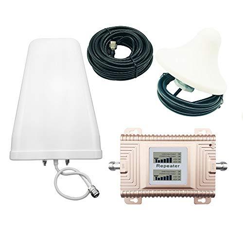 HXY Signalverstärker CDMA/PCS Handy-Signalverstärker 4G Handy-Signalverstärker 850/1900 MHz Handy-Signalverstärker-Booster-Kits Cdma-handy