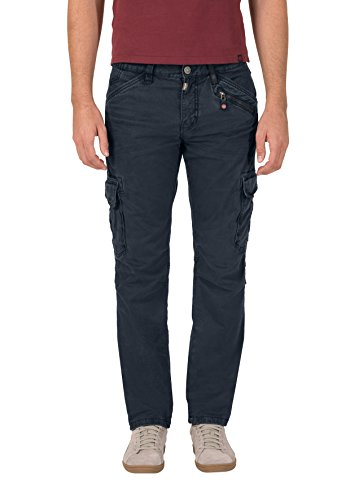 Timezone Herren Hose Regular Ben Cargo, Blau (Dark Night Blue 3115), W33/L36