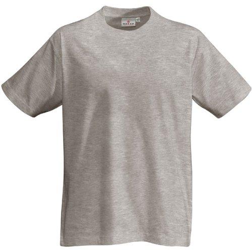 T-Shirt Heavy, Grau-Meliert, L (Grau T-shirt Herren)