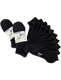 Soxon Sneaker Socken - 10er Pack - für Business, Freizeit und Sport