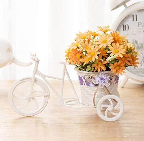 LLSTRIVE Künstliche gefälschte Blume der Simulation, Wohnzimmer-Bücherregal des Nachtesszimmers, Blume, Minibonsaisblume, T-Auto