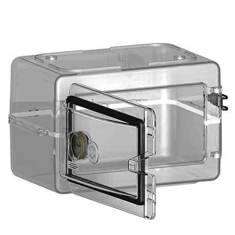 Bel-Art Scienceware 420751000 Secador Polystyrene Mini Desiccator Cabinet, Clear, 13.3