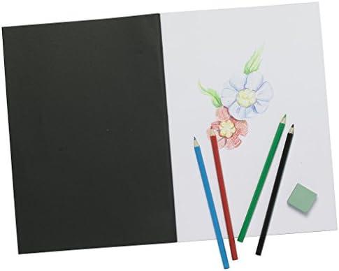 Tigre Tigre Tigre A4 Artiste Carnet à croquis Blanc papier cartouche noir carte Coque Art Pad by Tiger Stationery B00L2MHAS0 e3edae