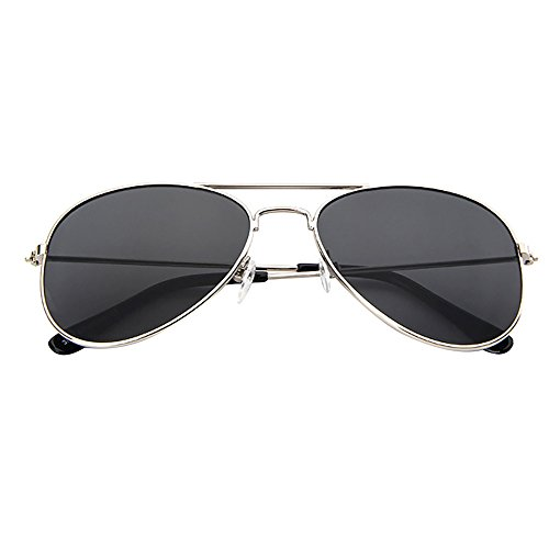 Topgrowth occhiali da sole bambino aviatore pilota alla moda occhiali da sole per ragazze ragazzi uv400 sunglass (g)