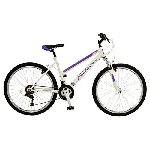 41D5lqHp0%2BL. SS500  - Falcon Women's Orchid Comfort Mountain Bike-White/Purple, 12 Years