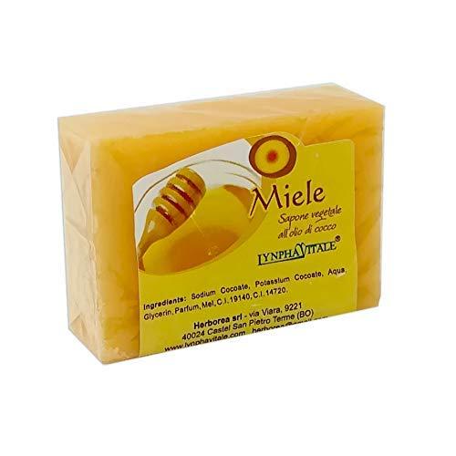 Honig Pflanzenseife - 100% Natürliche Seife - VeganOk - 100 gr. -