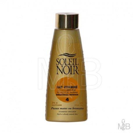 Soleil noir - Lait vitamin bronzage intense