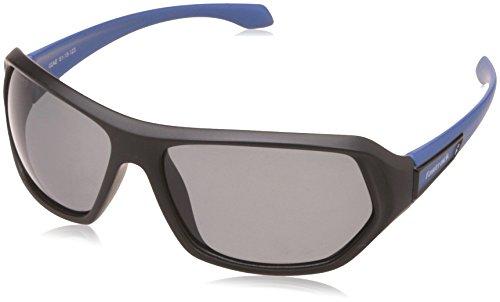 Fastrack UV Protected Sport Men's Sunglasses (P322BK3P|61|Grey) image