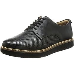 Clarks Glick Darby - zapatos con cordones de cuero mujer