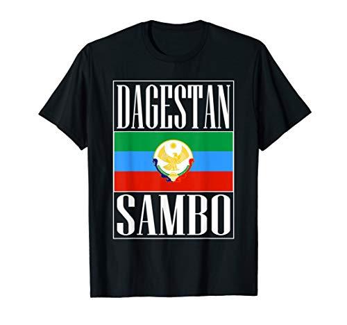 Dagestan Sambo Master. Proud Dagestan Fighter T-Shirt -