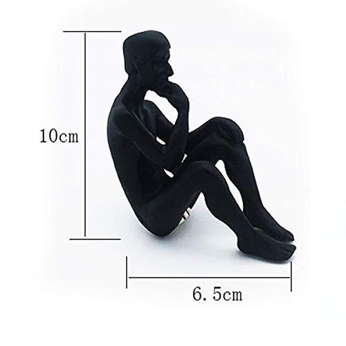 GAOXUQIANG Auguste Rodin Thinker Escultura Pensador