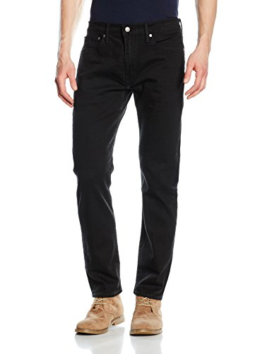 Levi's Herren Tapered Tapered Fit Jeans 502 Regular Taper, Schwarz (Nightshade 31), W42/L32
