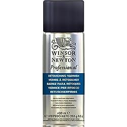 Winsor & Newton 3041983 ÖLmalmittel, Retuschierfirnis, 400 Ml Spray, Ein Zwischenfirnis, Der Schnell Zu Einem Nicht Vergilbenden Glänzenden Film Trocknet