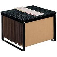 Liderpapel KF15265- Soporte para papel tamaño DIN A 4, fabricado con pletina de hierro, 383x34x346 mm, color negro