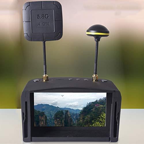 Durable1. Claridad: 800 * 4802. Frecuencia de recepción: 5645-5945MHz,3. Potencia: 3.25w, opcional (40 frecuencias)4. Voltaje de entrada: 7V-23V5. Peso del embalaje: 700g5. Función de grabación de video DVR6. Batería incorporada 7.4V7. Máximo soporte...