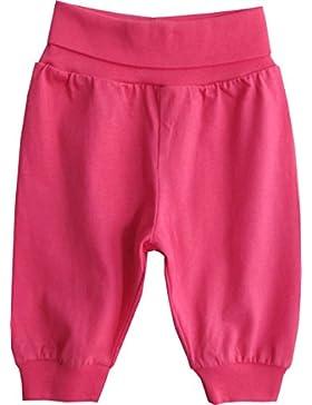 Schnizler Baby - Mädchen Hose Jogginghose mit elastischem Bauchumschlag