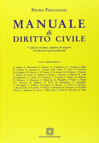 Manuale di diritto civile 7 edizione