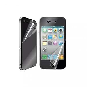 Muvit MUSCP0216 Film de protection d'écran anti trace de doigt pour iphone 4/4S