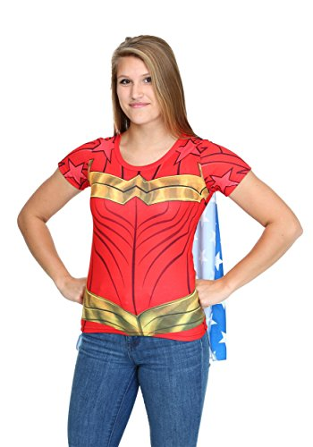 Womens Wonder Woman Costume Shirt