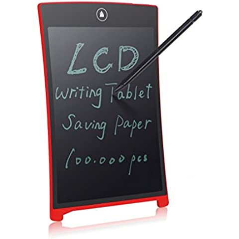 newyes 21,6cm LCD Escritura tablet-can utilizarse como pizarra blanca tablero cocina memo aviso nevera Board magnético grande diario