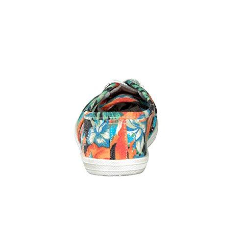 brandsseller, Scarpe stringate donna arancione / verde
