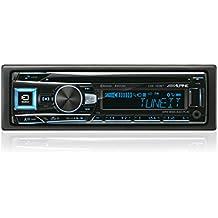 Alpine CDE-193BT Autoradio Bluetooth con CD / MP3 / USB frontale e AUX IN - Uscita Passa Alto