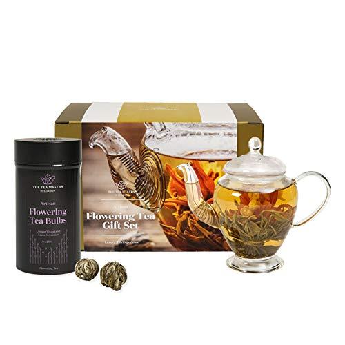 The Tea Makers of London - Juego té floreciente