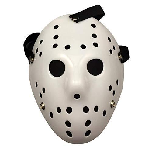 Jason Maske für Halloween-Kostüm, Protestmusik, Festivals, Cosplay, Maskerade, Events für Männer und Frauen All - Einfache Kerl Halloween Kostüm